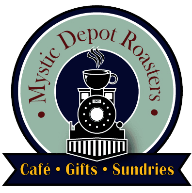Mystic Depot Roasters Coffee House, Nostalgic Fare, Gift Shop